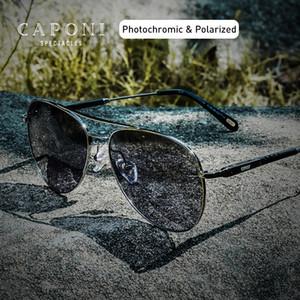 CAPONI Männer Sonnenbrille Avation polarisierte Photochromic Mann Augengläser Fahren 2020 Klassische Sun Safty Gläser UV400 BS3109