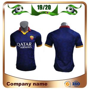19/20 Player Version Roma Third weg Fußball-Jersey-2020 Rom TOTTI DE ROSSI DZEKO Fußball-Hemd 3RD CENGIZ UNDER KOLAROV Fußball Uniform