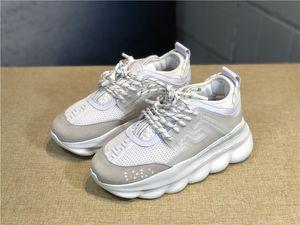 scarpe da uomo di design Scarpe di marca in pelle di marca versa scarpe da ginnastica di papà scarpe da ginnastica Medusa Ins aumentano il fondo scarpe di lusso delle donne piattaforma caldo