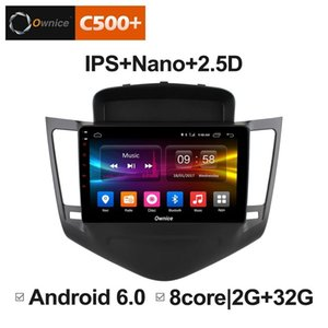 "9"" 2.5D Nano IPS Screen Android Octa Core 4G LTE Car Media Player With GPS RDS Radio Bluetooth For Chevrolet Cruze 2009-2014 #4045"
