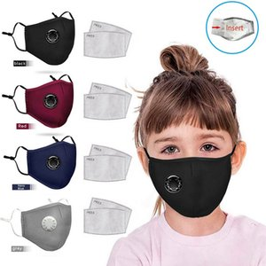 Kids Fabric washable face mask with filter cotton face mask durable recycle protective products PPE