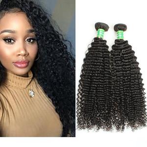 Ein Großhandel Malaysian Virgin lockiges Haar Weave 3Bundles Menschenhaar-einschlag Verlängerungen 8a Günstige Versaute Curly Bundle Haarprodukte Natürliche Col