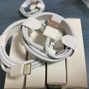 500pcs lot 7 générations qualité originale OEM 1m 3ft 2M USB Sync Charge Cable Avec le paquet de détail 2020