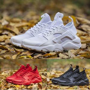 Huarache Ultra Running Zapatos Para Hombres Mujeres Triple Blanco Rojo Negro Gris para mujer para hombre Huaraches entrenadores deportivos zapatillas de deporte del zapato