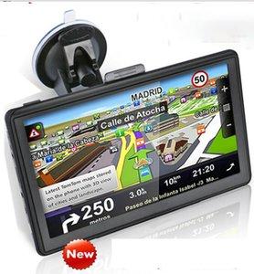7 inç Araba Navigasyon Kamyon GPS Navigator Oto Araba Sat Nav 4 GB Son Haritalar WinCE 6.0 FM Bluetooth AVIN Desteği Çoklu dil KKA6726