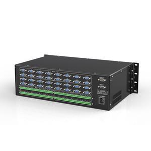 16 a 16 su / 8x8 interruttore matrice VGA con bilanciamento audio 2048 x 1536 HD VGA matrice switch