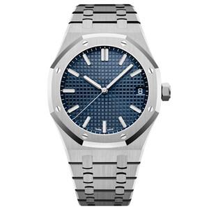 mens relojes mecánicos automáticos de 42 mm relojes de pulsera de natación completa de acero inoxidable fábrica de zafiro U1 luminoso estupendo montre reloj de lujo