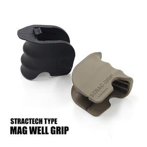 M4를위한 전술상 전투 STRAC 그립 중합체 MAG 좋은 그립 인간 환경 공학 그립