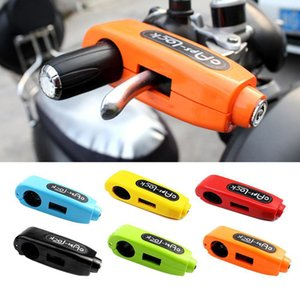 Universale Moto Locks manubrio Safety Lock Brake della manopola Anti Theft Protection Security Locks Per batteria auto motorino del motociclo