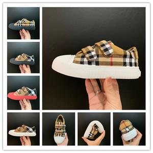 2020 diseñador de moda de lujo zapatos de los niños de los niños de invierno niños de calidad superior zapatos niñas niño recién nacido zapatos infantiles para bebés 26-35