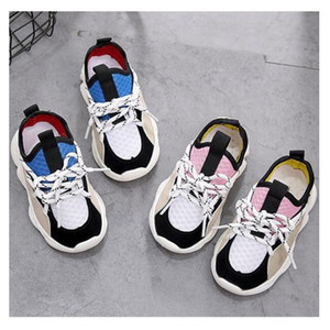 New Shoes For Boys Girl Children Casual Sneakers Baby Girl Air Mesh Breathable Soft Running Sports Shoe Pink Blue
