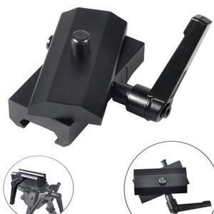 Magorui QD Dönebilen Tüfek Bipod Adaptörü Harris Bipod Pivot Kilidi ile 20mm Picatinny Ray Dağı