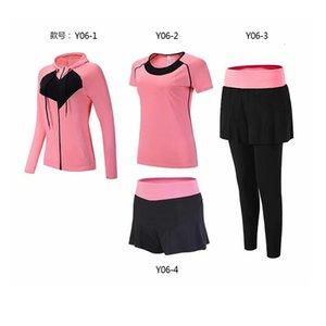 Takım Elbise Gevşek Sıska Run Vücut Serve Kadın Fonu Dış Mekan Spor Giyim Suit Serve Dört Kağıt Seti Yoga