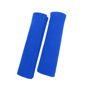Blue Black Car Seat Belt Shoulders Pads Covers Cushion Safety Shoulder Protection Auto Interior Accessories Car Seat Belt Covers