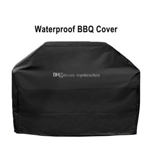 Gas Grill Cover Waterproof BBQ Grill Barbeque Cover Outdoor Rain Grill Anti Dust Protector For Heavy Duty Gas Charcoal Electric Barbecue Bag