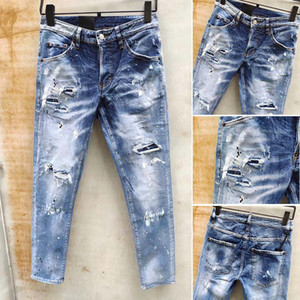 mens designer jeans fashion brand men s jeans true slim style washed zipper decorated urban casual pants