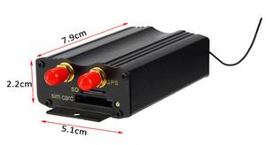 Yüksek Kalite Araba GPS Tracker Sistemi GPS GSM GPRS Araç Izci Bulucu Uzaktan Kumanda SD SIM Kart ile TK103B Anti-hırsızlık Ücretsiz Kargo