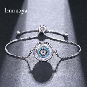 EMMAYA Nouvelle Mode Réglable Bracelets Pour Les Femmes Cristal Charme De Mariage Bracelet Partie Bijoux Ami Cadeau En Gros