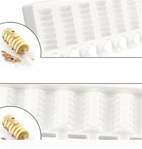 8 Boşluk Çizgili Dondurma Makineleri Kalıp DIY Kalıplar buz kalıpları Tatlı Kalıplar Tepsi Popsicle Kalıplar