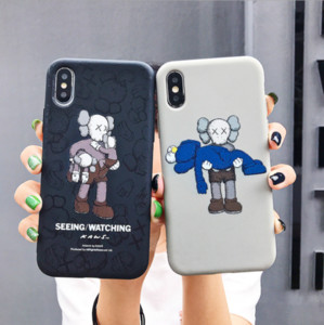 NEW FOR IPHONE 6-11 PRO AND HUAWEI P30 ETC CELL PHONE CASE FITTED CASE 100%TPU INS DESIGN GREY AND BLAK DIR-RISTANT FREE SHIPPING