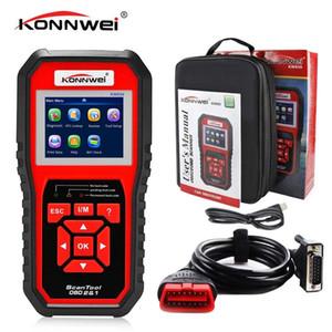 OBD2 Odbii Scanner Auto Diagnóstico Scanner Konnwei KW850 Função Completa Diagnóstico Carro Scanner Universal OBD Motor Reader