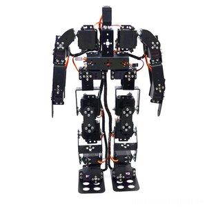 17DOF Robot Bipède Kit Robot éducatif électrique / RC Animaux télécommande électrique 17 degrés de liberté Humanoïde Humanoïdes Pieds de marche