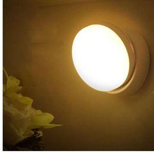 Sensore di movimento USB ricaricabile Litake LED ha attivato la luce di notte per armadio a muro Corridoio gabinetto