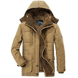 XingDeng Dış Giyim Rüzgarlık Sıcak Fermuarlı cebi Ceketler Erkekler moda Mont Erkek Parka Masculino Militar Ceket