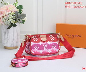 Best selling handbag shoulder bags handbag fashion bag handbag wallet phone bags Three-piece combination bags free shopping