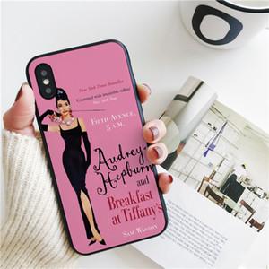Coque Luxury Audrey Hepburn Breakfast Cover для iPhone 11 Pro Xs Max Xr Case для iPhone 8 7 6s Plus 5S SE Case мягкая силиконовая крышка.