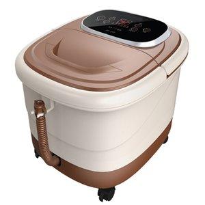 러시아 무료 배송 완전 자동 온수 피트 장치 전기 발 목욕 온도 조절 pediluvium 장치 버킷