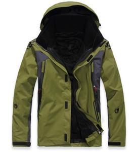 Chaqueta a prueba de viento impermeable al aire libre para el invierno de 2019 hombres calientes, chaqueta de senderismo para acampar traje de esquí para hombre.