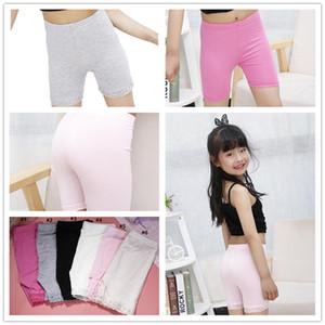 Mädchen Sicherheits-Hosen-Baby-Short Tights-Kind-Kleid Sicherheit Panties Kinder Modal Shorts Unterwäsche Spitze-Kurzschluss-Gamaschen Anti-Brand Shorts E3303