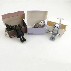 Figura de acción de DHL KAWS BFF Llavero tendencia muñeca Brian Street Art PVC versión limitada colección de juguetes Modelo encantos correas regalo
