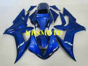 Пользовательские литья под давлением обтекатель комплект для YAMAHA YZFR1 02 03 YZF R1 2002 2003 YZF1000 ABS прохладный синий обтекатели набор + подарки YE23