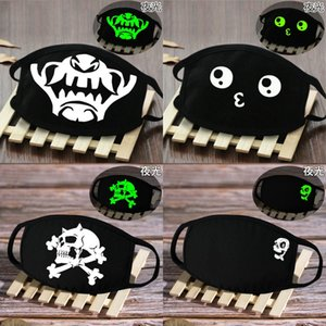 Comfort and Breathability mask facemask glow in the dark skeleton skeleton face bandana masks Comfort and ABC2007 qBVRc