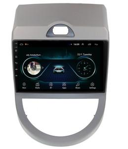 KIA SOUL 2009-2010 7inç Android araba GPS navigasyon mp3 mp4 müzik çalar HD 1080 güzel duvar kağıdı pürüzsüz müzik çoklu dokunmatik ekran