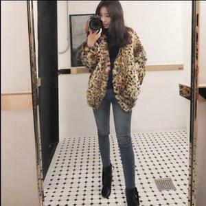 Vetement 2019 Winter Women's Faux Fur Coat Artificial Fur Overcoat Furry Jacket Femme Plus Size Furry Fake Outwear Z281