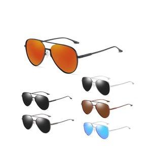 Fashion Sunglasses Men's Polarized Driving Sport Sun Glasses For Men Women Square Color Mirror Luxury Designer