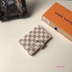 Classique Femmes Hommes être utilisé comme bloc-notes du carnet d'adresses ou un livre de calendrier court Portefeuilles fonction multi bb