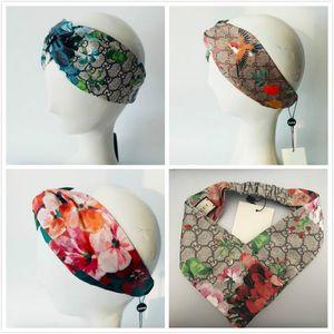 auf Lager überqueren HOT neue Seide Stirnbänder Blumen Kolibri Arten elastische Haarbänder für Mode Frauen und Männer geben Verschiffen frei