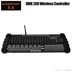 TIPTOP Stage Light DMX512 / 1990 Стандарт 200 2.4G Wireless Stage Light Консольные ручки 192 выходных каналов Поддержка Кабинет Пластические