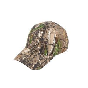 Gorra de béisbol Fioday unisex del deporte del sombrero de camuflaje táctico Correr Shade deportes al aire libre Sun sombrero al aire libre