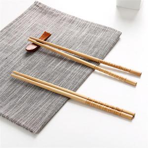 De haute qualité 10 paires style chinois Chopsticks Creative naturel fait à la main en bois Chopstick Arts de la table Set 2020 Chopsticks Vente chaude