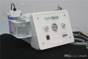 3 in1 portable Diamant Mikrodermabrasion Schönheit Maschine Sauerstoff Hautpflege Wasser Aqua Dermabrasion Peeling hydrafacial SPA-Anlagen