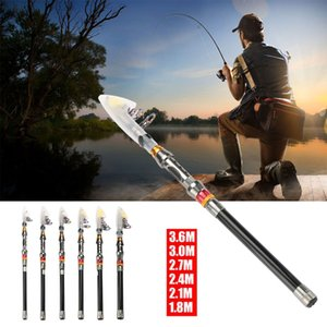Spinning Pole Ultralight Adjustable Fishing Rod Fishing Accessories Extension Extension Tool 1.8-3.6m 1.8-3.6m Carbon