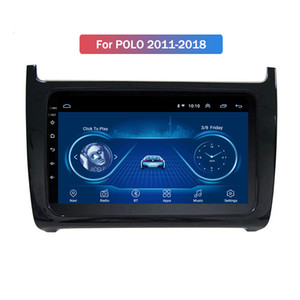 9 Inch 10 Android completa Touch Screen Car Multimedia System para VW POLO 2011-2018 Gps Radio Navigation