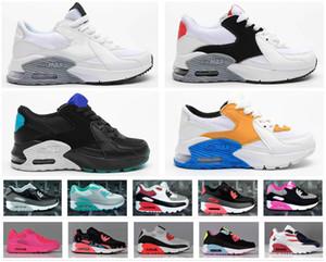 Venda barato Crianças Sneakers Presto 90 Shoe Crianças Juventude Esportes Chaussures pour enfants Trainers infantil Meninas Meninos Running Shoes Tamanho 28-35