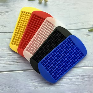 Ice Maker Mold 160 Grid Cube Silicone Ice Cube Mould Drinking Wine Beverage Ice Cream Tools Kitchen Tools T2I51059