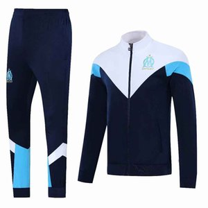 Marseille jacket tracksuit PAYET soccer Survetement 19 20 L.GUSTAVO long sleeve THAUVIN TRACKSUIT football training suit OM Chandal
